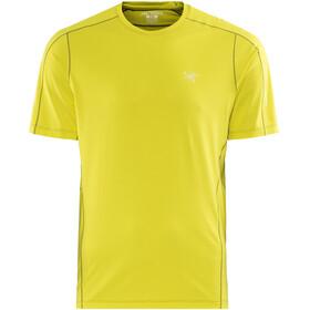 Arc'teryx Motus - Camiseta manga corta Hombre - amarillo